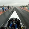 Martin Curbishley driving our Dragster